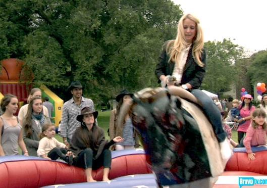 Kim Richards Riding
