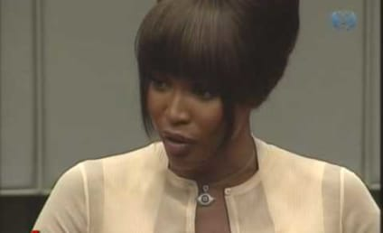 War Crimes Trial Interferes With Naomi Campbell's Busy Schedule