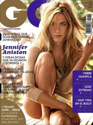 Jennifer Aniston GQ Spain Cover
