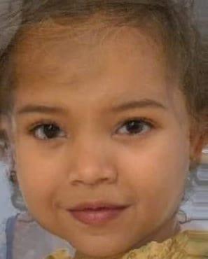 Kim Kardashian Baby Face Morph