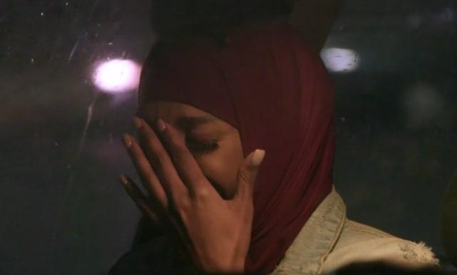 Brittany banks breaks down sobbing