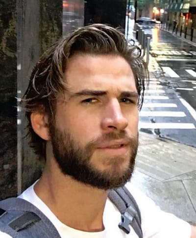 Liam Hemsworth in the City