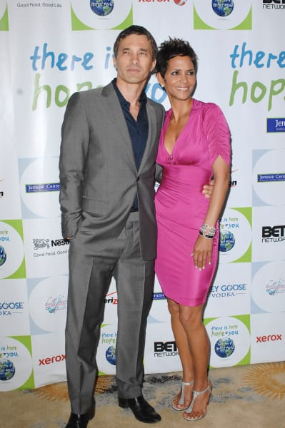 Olivier Martinez and Halle Berry Photo