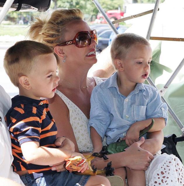 Britney, Sean and Jayden Federline