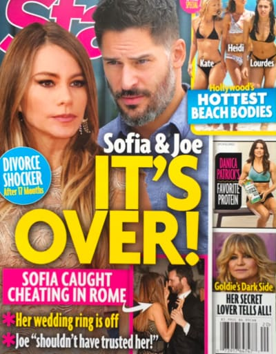 Sofia Vergara and Joe Manganiello: Over?