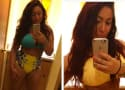Deena Cortese Shows Off Sexy Curves, Really Into Vintage Swimwear
