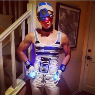 Chris Colfer Halloween