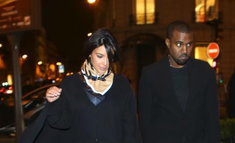 Kanye and Kim Pic