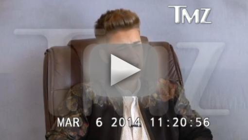 Justin Bieber Curses Off Court Reporter