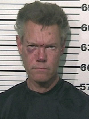 Randy Travis Mug Shot
