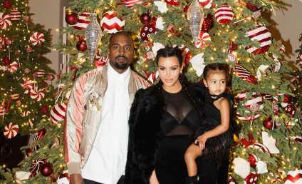 Kim Kardashian Shares Christmas Eve Photo, Reveals Post-Baby Body