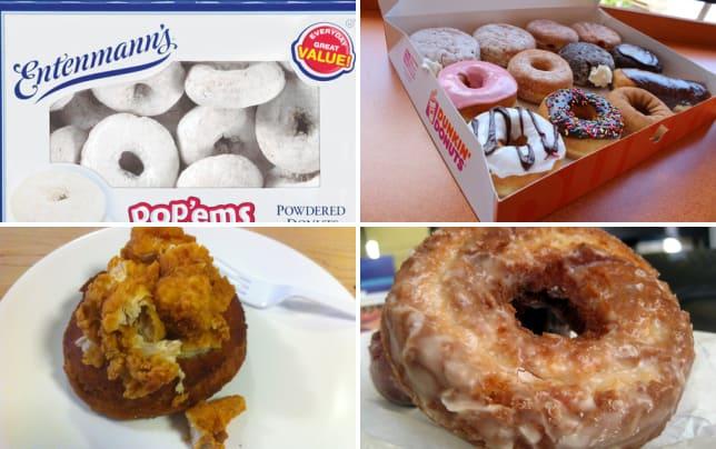 Entenmanns powdered sugar donuts