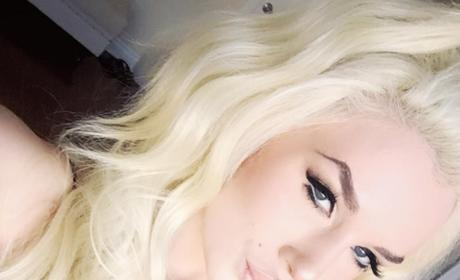 Courtney Stodden Long Blond Wig