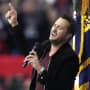 Luke Bryan Sings National Anthem