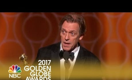 Hugh Laurie Wins Best Supporting TV Actor