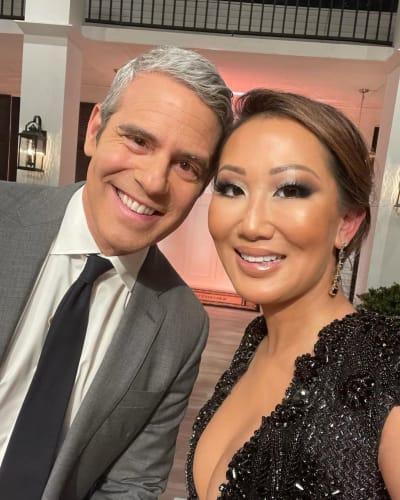 Andy Cohen et le Dr Tiffany Moon Selfie