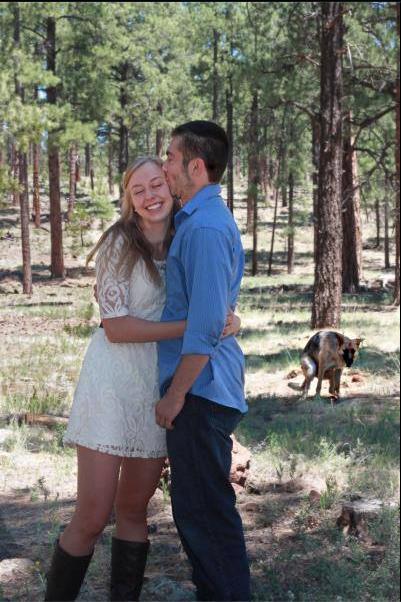 Dog Photobombs Couple