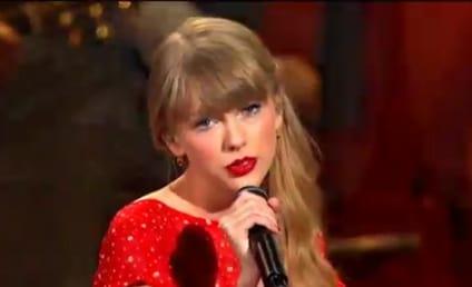 """Taylor Swift Performs """"Begin Again"""" at CMA Awards 2012"""