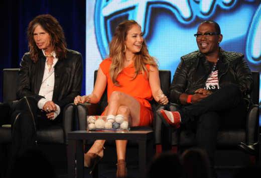 Three Idol Judges