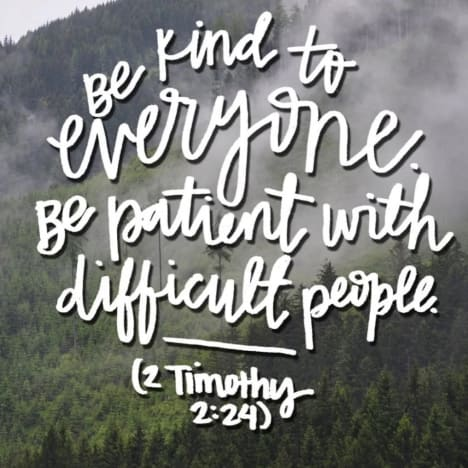 Kristina Shirley IG - shares quote about difficult people