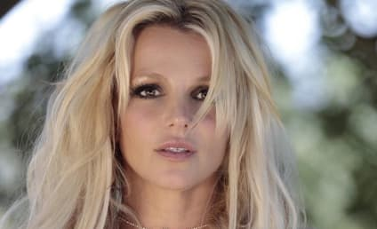 Britney Spears Suffers Nip Slip on Stage, Doesn't Give AF