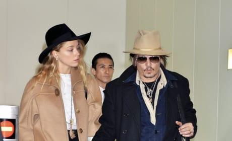 Johnny Depp, Amber Heard Pic