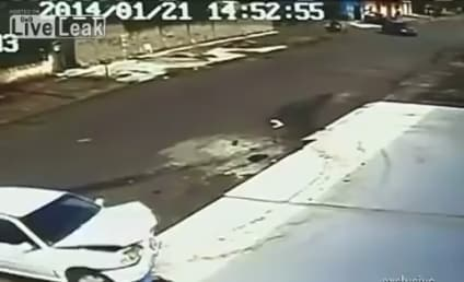 Kid Gets Run Over By Car, Emerges Unharmed in Amazing, Graphic Video