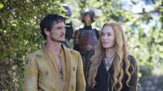 Cersei Lannister and Oberyn Martell
