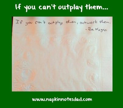 Outwork Them