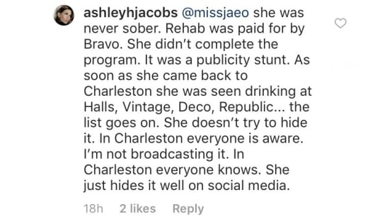 Ashley Jacobs exposes Kathryn Dennis on IG 03