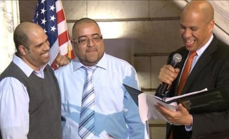 Cory Booker Marries Gay Couple