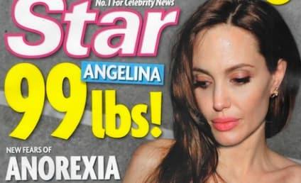Angelina Jolie an Anorexic Heroin Addict, Tabloid Claims; Brad Pitt & Jen Aniston Reunite!
