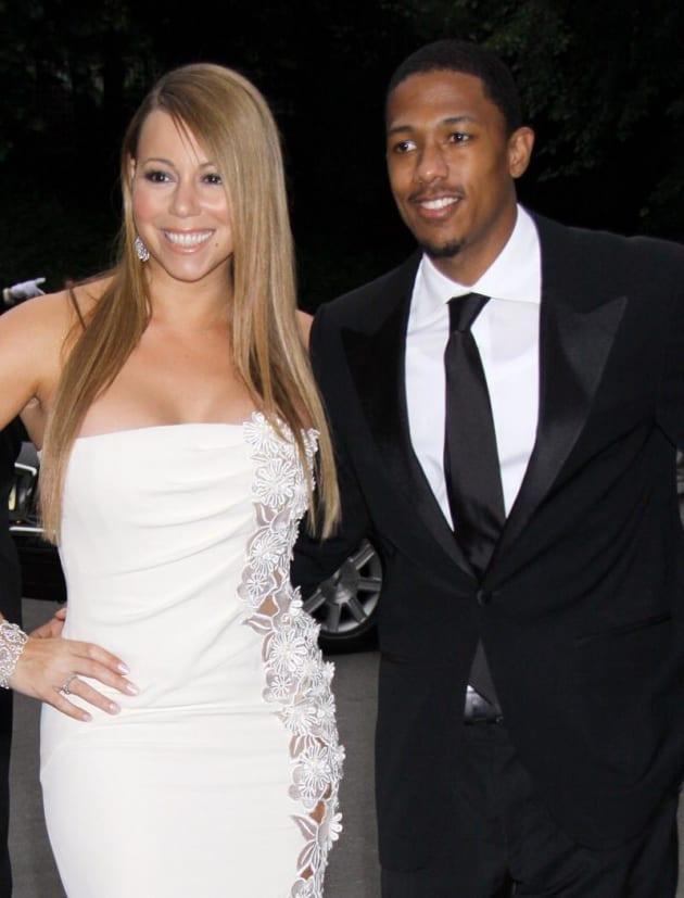 Eminem Implies He Still Has Mariah Carey Nude Pictures