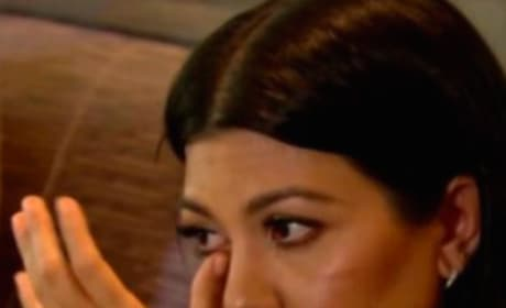 Kourtney Kardashian Tries, Fails to Save Kris Jenner's Life