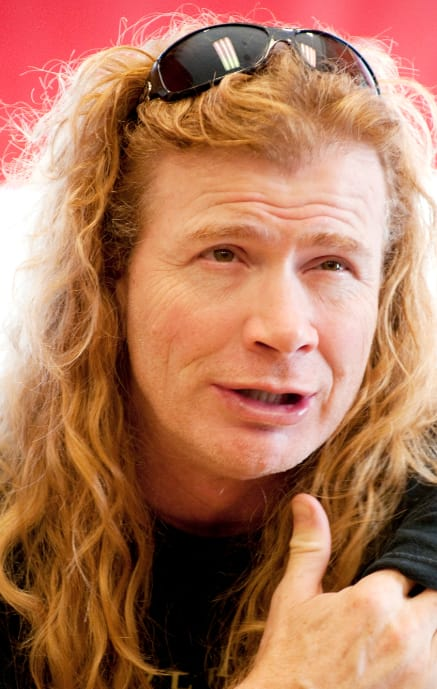 Dave Mustaine Pic