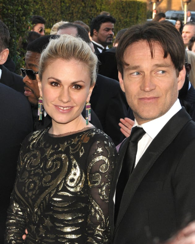 Anna Paquin and Stephen Moyer Pic