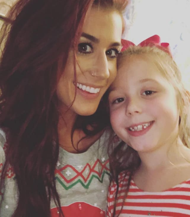 Chelsea houska daughter