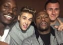 Justin Bieber Parties With Johnny Manziel, Cops Get Called TWICE!