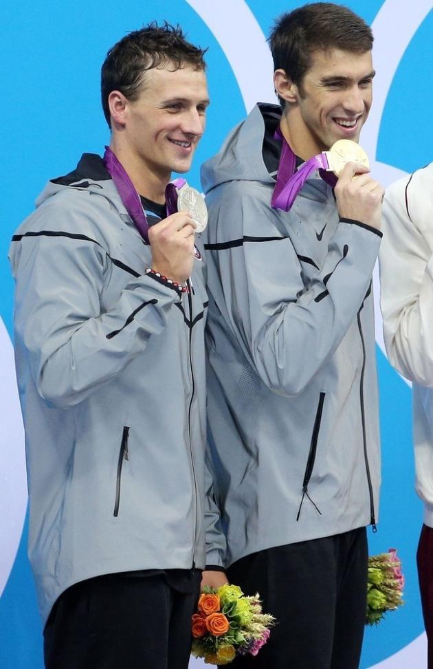 Michael Phelps, Ryan Lochte