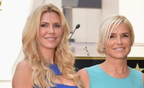 Brandi Glanville and Yolanda Foster