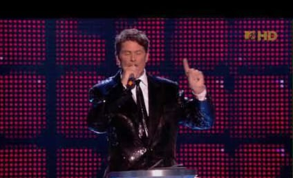 Hoff the Wagon: David Bombed at EMAs