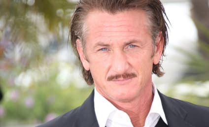 "Sean Penn Rips ""The Whole F--king World"" For Abandoning Haiti"