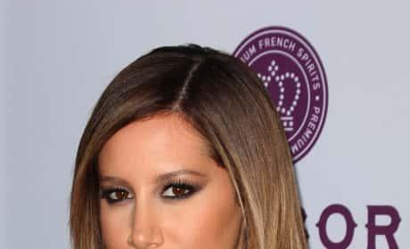 Ashley Tisdale Movie Premiere Pic