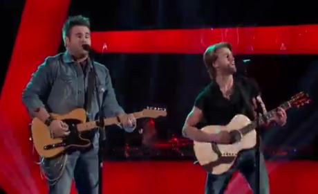 The Swon Brothers - The Voice Blind Audition