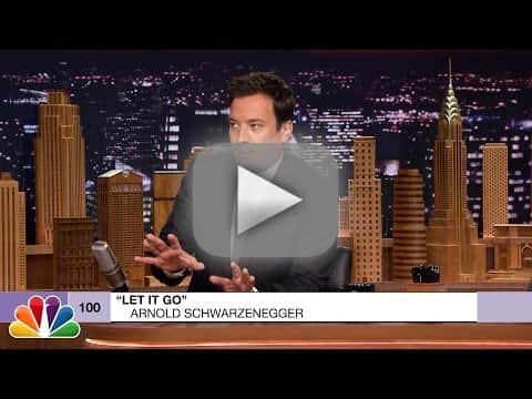 "Arnold Schwarzenegger Covers ""Let It Go"""