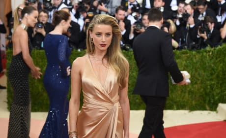 Amber Heard Gets Fancy