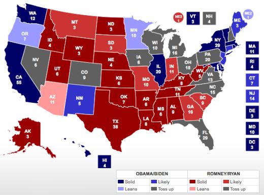 Final Pre-Election Map
