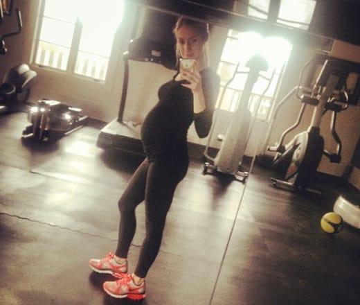 Kristin Cavallari Baby Bump Selfie