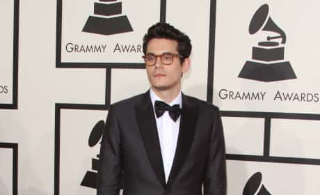 John Mayer at the 2015 Grammys