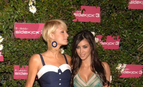 Paris Hilton and Kim Kardashian: T-Mobile Sidekick 3 Launch